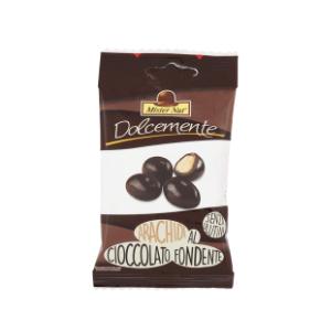Arachidi ricoperte al cioccolato fondente - 25g