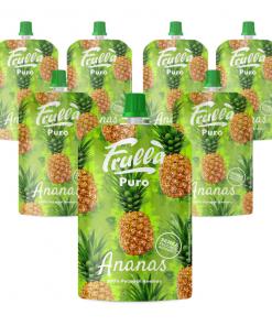 Frutta Frullata Puro 100% Ananas - Pack 10 Pezzi